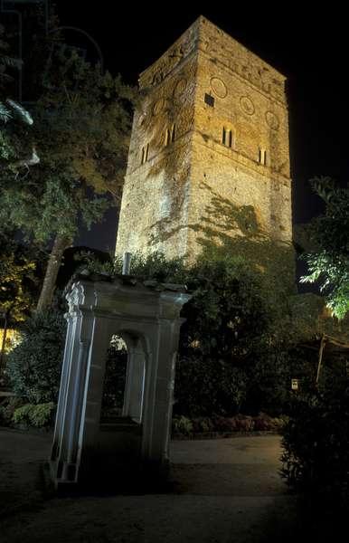 Villa Rufolo, Ravello, Amalfi coast, Campania, Italy.