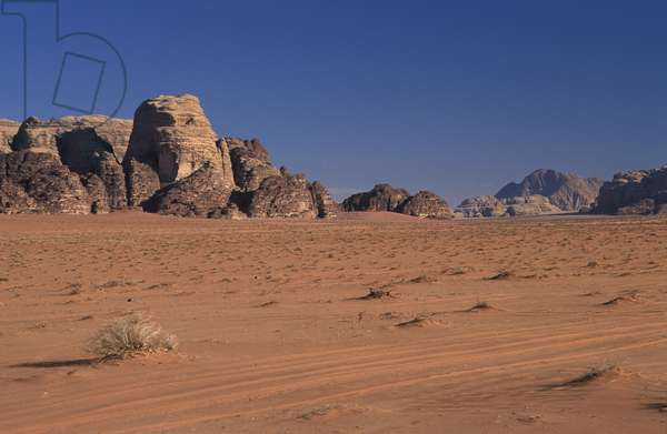 Wadi Ramm desert, Madaba, Jordan, Middle East