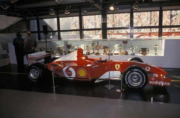 Ferrari F1 2003, Galleria Ferrari museum, Maranello, Emilia Romagna, Italy