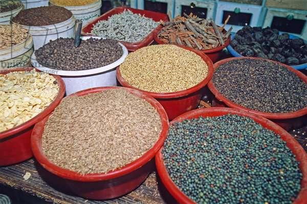 Spices, Aquaba, Jordan, Middle East