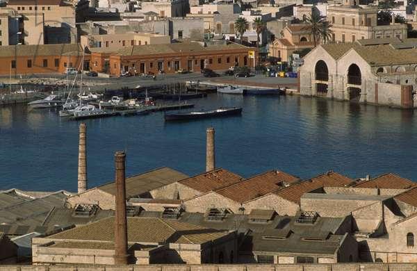 Port, Favignana, Sicily, Italy
