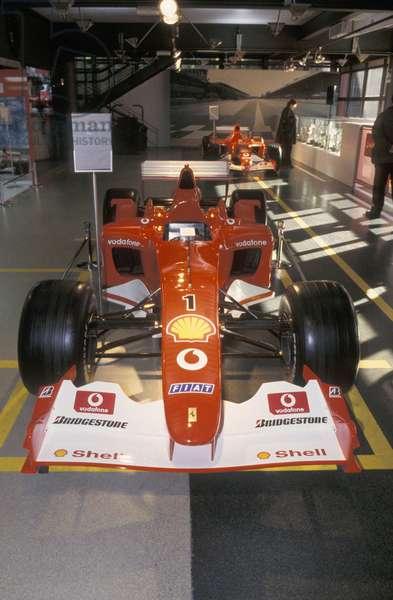 Ferrari F1 2002, Galleria Ferrari museum, Maranello, Emilia Romagna, Italy