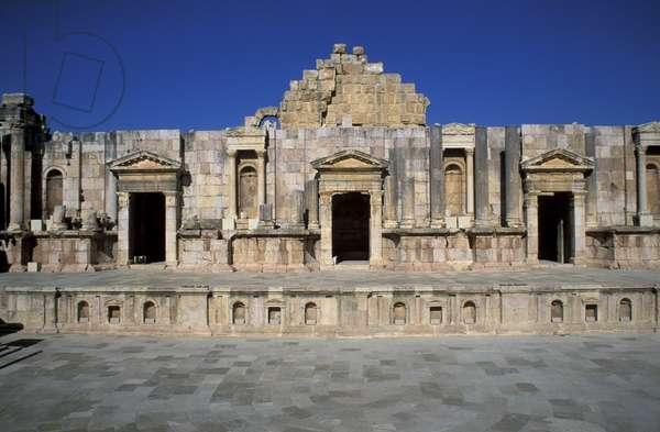 South Theatre, Jerash, Jordan, Middle East