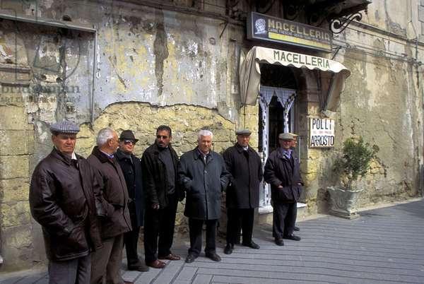 People, Marsala, Sicily, Italy