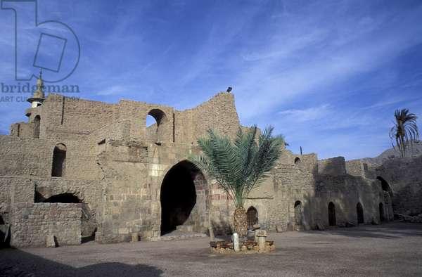 Mamluk Fort, Aqaba, Jordan, Middle East