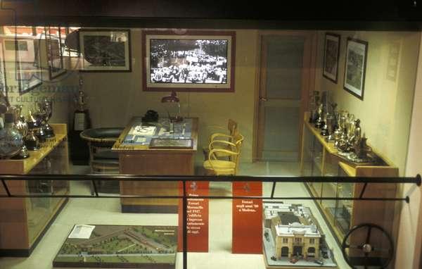 Enzo Ferrari office, Galleria Ferrari museum, Maranello, Emilia Romagna, Italy