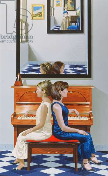 Keeping Time II, 2005 (oil on canvas)
