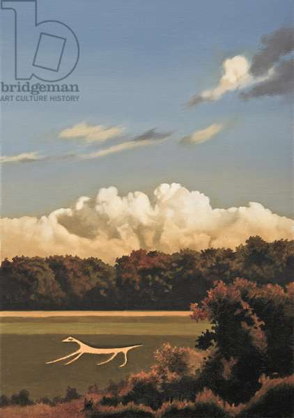 Marlborough Horse, 2011 (oil on canvas)