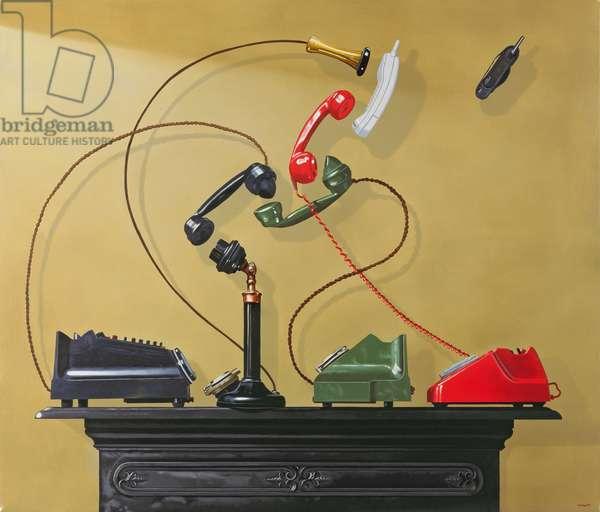 Mobilisation, 2000 (oil on canvas)