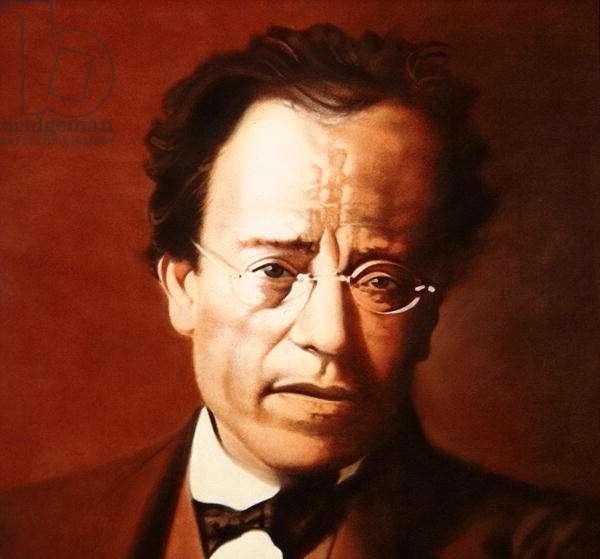 Mahler No.8, 1987 (pastel on paper)