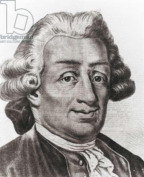 GOLDONI, Carlo (1707-1793). Italian dramatist and poet. Engraving.