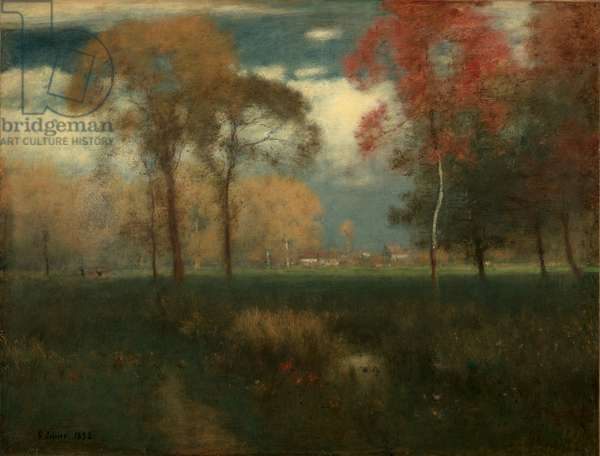 Sunny Autumn Day, 1892 (oil on canvas)