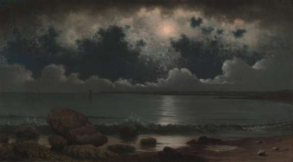Point Judith, Rhode Island, 1867-1868 (oil on canvas)