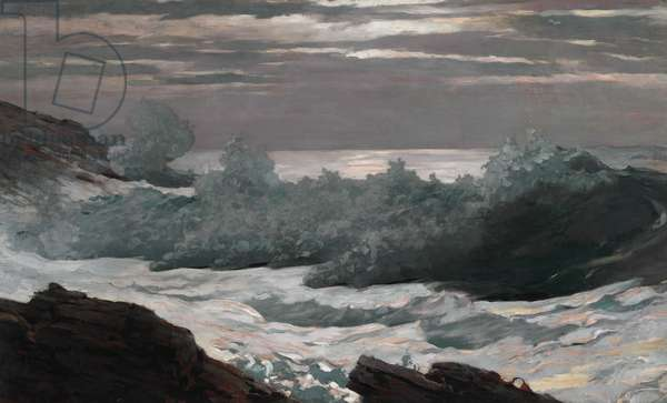 Early Morning After a Storm at Sea, 1900-02 (oil on canvas)