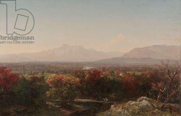 An October Day in the White Mountains, 1854 (oil on canvas)