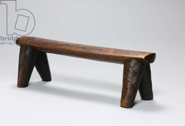 Headrest, 1800s-1900s (wood)