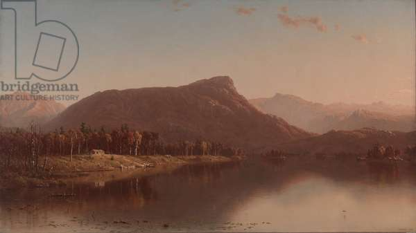 A Home in the Wilderness, 1866 (oil on canvas)