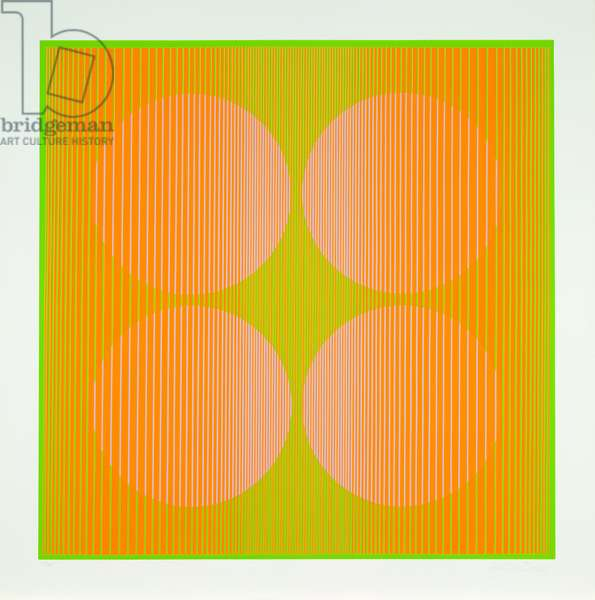 Untitled, 1970 (colour screenprint)