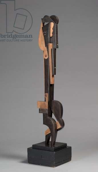 Detachable Figure (Dancer), 1915 (ebony & oak)