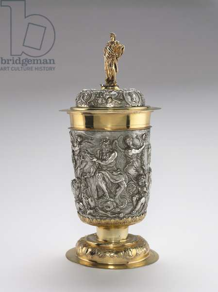 Covered Cup, 1688 (silver & gilt silver)