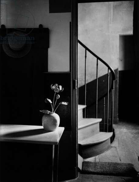 Chez Mondrian, 1926 (gelatin silver print)