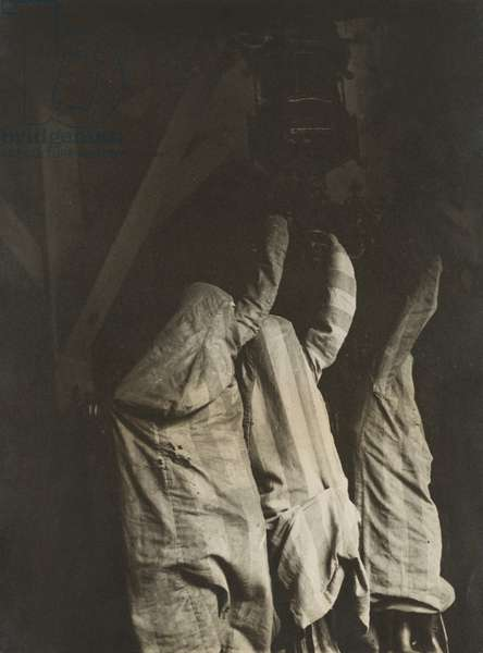 Three Covered Statues, 1931-36 (gelatin silver print)