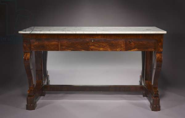 Sideboard, firm of Duncan Phyfe and Son (1768-1854), c.1840 (chiefly rosewood veneer with pine and poplar secondary woods)