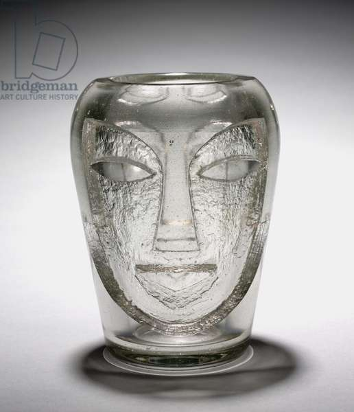 Vase, c.1928 (blown glass, acid etched)