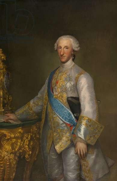 Portrait of Infante Don Luis de Borbon, c.1776 (oil on canvas)