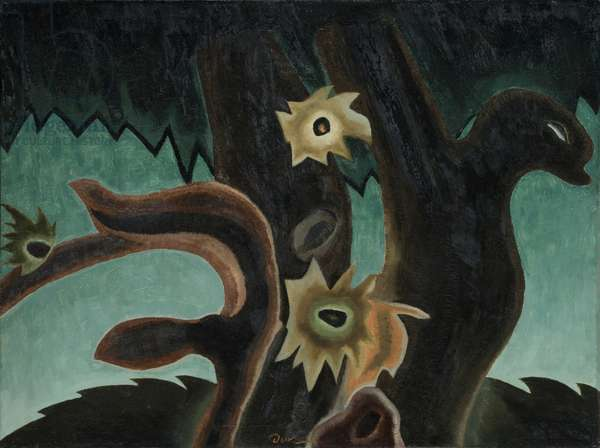 Pine Tree, 1931 (oil on canvas)