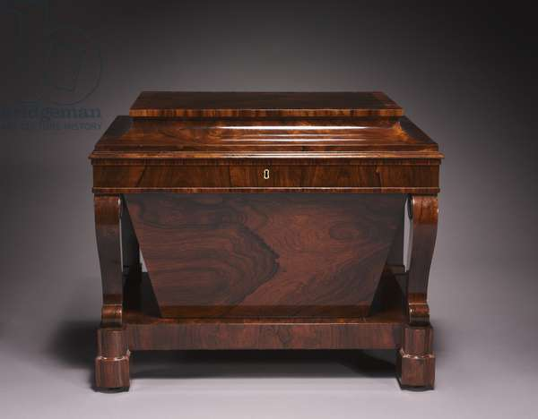 Cellarette, firm of Duncan Phyfe and Son (1768-1854), c.1840 (chiefly rosewood veneer with pine and poplar secondary woods)