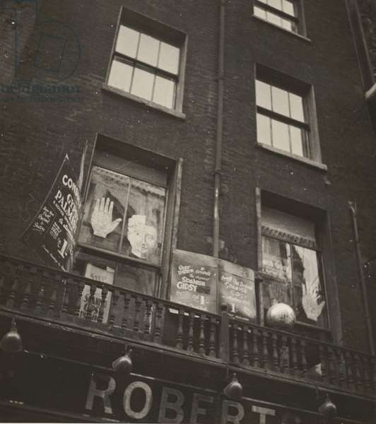 Gypsy Palmist, 1934 (gelatin silver print)