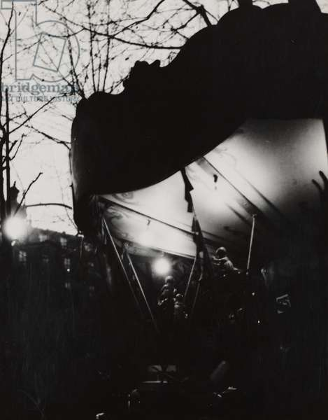 Carousel at Night, 1931-36 (gelatin silver print)