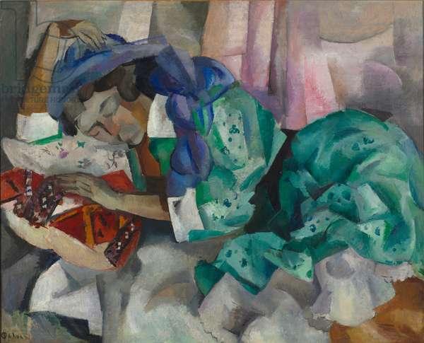 Sleeping Gypsy, c.1909-12 (oil on canvas)