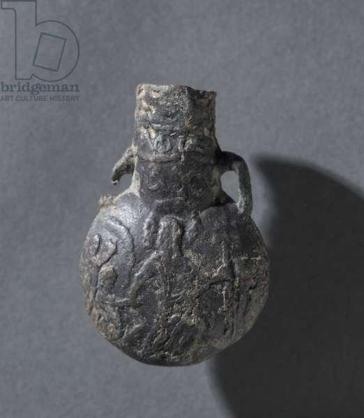 Pilgrim's Flask, c.1099-1200 (lead)