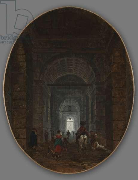 The Grotto of Posillipo, c.1769 (oil on canvas)
