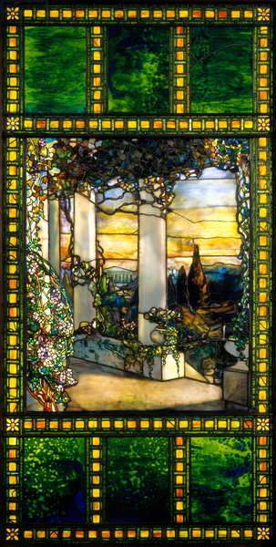 Window, c.1900 (stained glass)