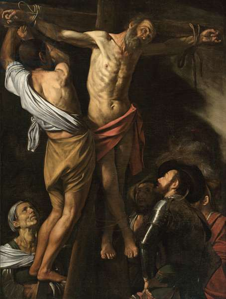 The Crucifixion of Saint Andrew, 1606-07 (oil on canvas)