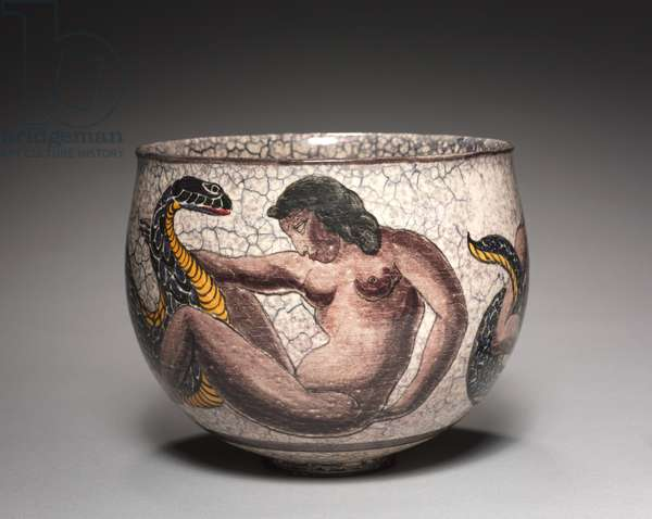 Bowl, c.1935 (earthenware decorated with lustre glazes)