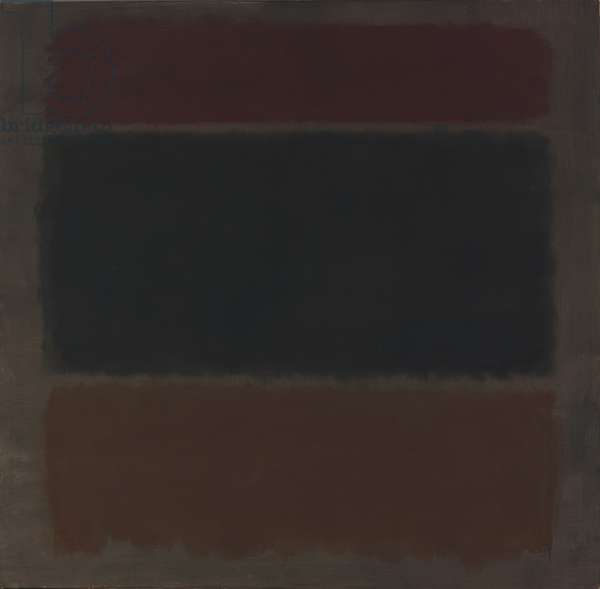 Red Maroons, 1962 (oil on canvas)