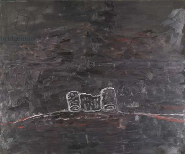 Scroll, 1978 (oil on canvas)