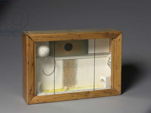 Video, c.1955-1963 (wood, glass & found objects)