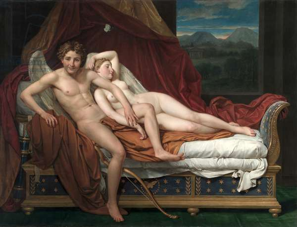 Cupid and Psyche, 1817 (oil on canvas)