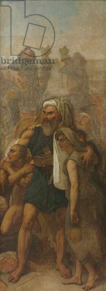 Egyptian Family (Sketch for