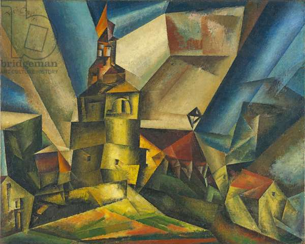 Markwippach, 1917 (oil on canvas)