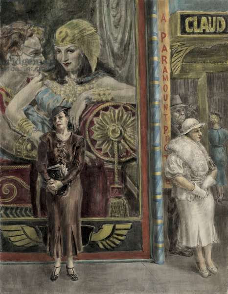 A Paramount Picture, 1934 (tempera on masonite)
