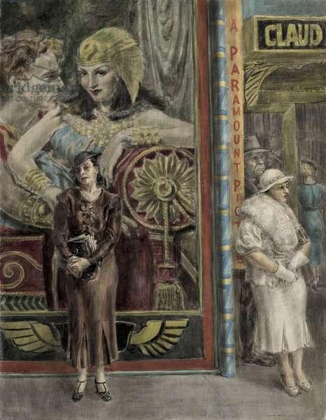 A Paramount Picture, 1934 (tempera on masonite)