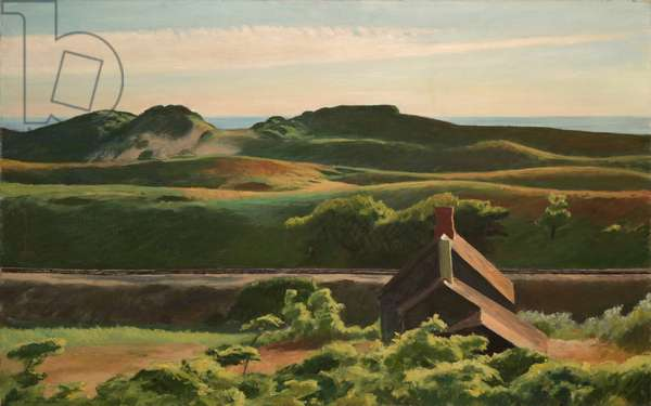 Hills, South Truro, 1930 (oil on canvas)
