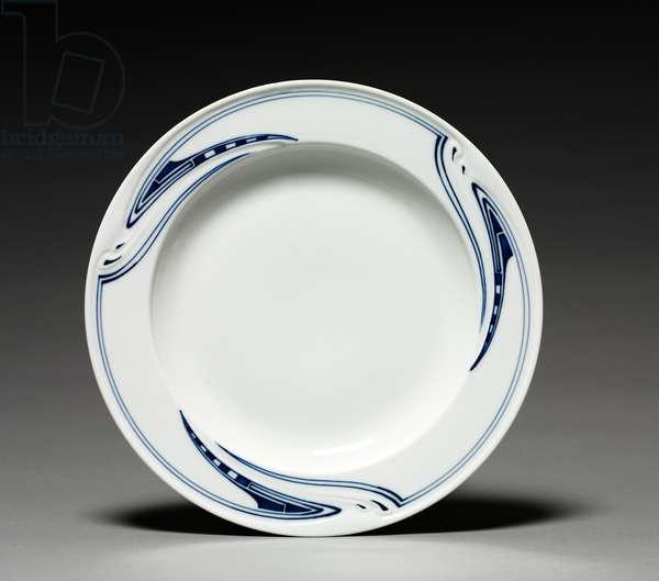 Plate, firm of Meissen Porcelain Factory, Germany, c.1903 (porcelain)