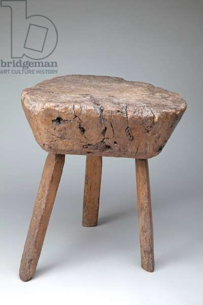 Chopping Block, early 19th century (ash)